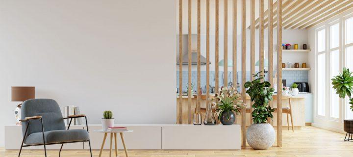 Aranżacja ścian w poszczególnych pomieszczeniach
